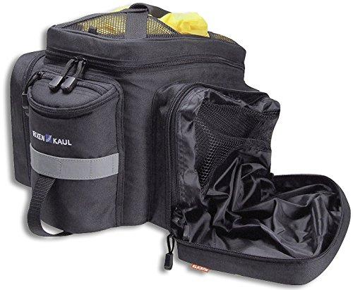 KLICKfix Farradtasche Rackpack 2 Plus Schwarz Gepäckträgertasche, 35 x 30 x 23 cm