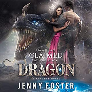 Dasquian: Claimed by the Black Dragon: A Romance Novel audiobook cover art