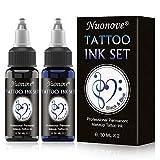 Ink Tattoo, Temporäre Tattoos, Tattoofarbe Schwarz, Temporäre Tattoos Ink 30 ml für blau...