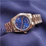 Reloj de Oro Rosa Amarillo Reloj Hombre Día Fecha Presidente Relojes mecánicos automáticos Mecánico Roma Negro VerdeOro Rosa Azul