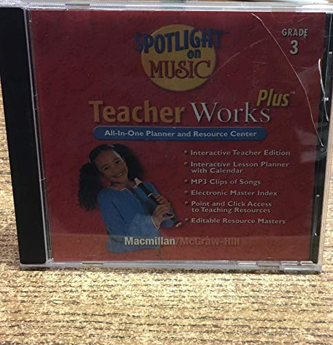 Spotlight On Music Teacher Works Plus All In One Planner And Recourse Center Grade 3