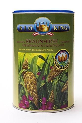 BioKing 2x 500g BIO BRAUNHIRSE, 100% gekeimt und gemahlen (EUR 7,90 / Pkg.), aus Österreich