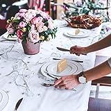 Partycards 50 Tischkarten/Platzkarten DIN A7 für Hochzeit, Geburtstag, Kommunion, Taufe (Kraftpapier und Pusteblume) - 5