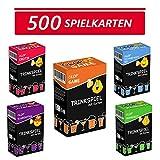 Glop 500 Spielkarten - Trinkspiel - Partyspiel - Kartenspiel - Spieleabend - Saufspiel - Brettspiel