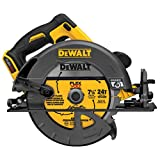 DEWALT FLEXVOLT 60V MAX Circular Saw, 7 1/4-Inch, Brushless, Tool Only (DCS575B)