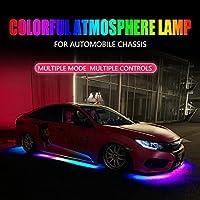 AL RGB マルチカラー フレキシブル フロー LED ライト リモート 60×2-150×2 AL-MM-2311-T004