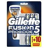 Gillette Fusion 5 ProGlide Rasierer Herren mit Trimmerklinge für Präzision und Gleitbeschichtung,...