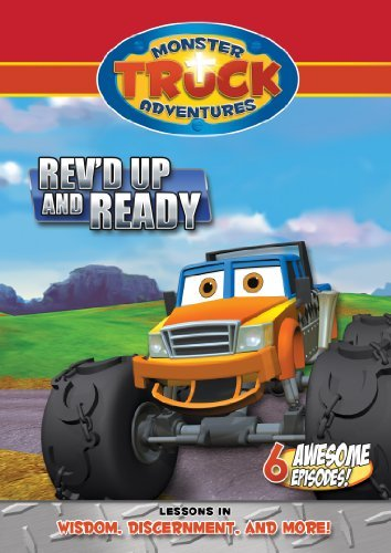 Monster Truck Adventures: Rev'd Up and Ready by Cameron Ansell