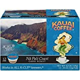 Kauai Coffee Single-serve Pods, Na Pali Coast Dark Roast – 100% Premium Arabica Coffee from Hawaii's Largest Coffee Grower, Compatible with Keurig K-Cup Brewers - 48 Count