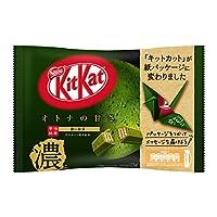 ネスレ日本 キットカット ミニ オトナの甘さ 濃い抹茶 12枚 ×12袋
