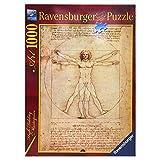 Ravensburger - Arte: Leonardo, el Hombre de Vitruvio, Puzzle de 1000 Piezas (15250 6)