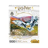 AQUARIUS Harry Potter Puzzle Hedwig (1000 Piece Jigsaw Puzzle) - Officially Licensed Harry Potter Merchandise & Collectibles - Glare Free - Precision Fit - Virtually No Puzzle Dust - 20 x 28 Inches
