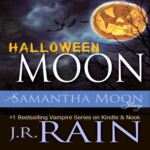 Halloween Moon audiobook cover art