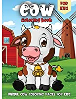 Cow Coloring Book For Kids: Funny Cowes Animals Colouring Pages for Kids Stress Relief and Relaxation, Cow Lover Gifts for Children