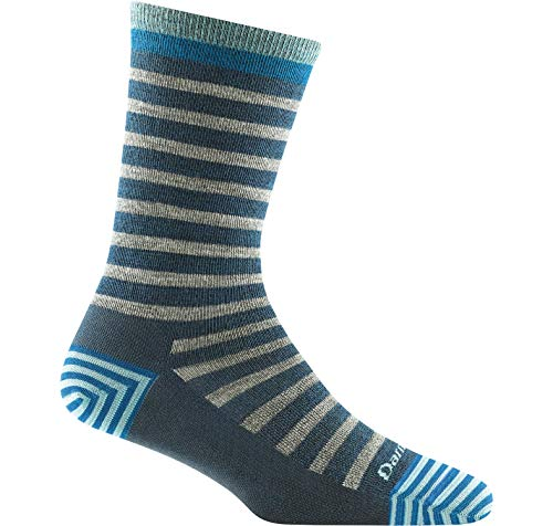 Darn Tough Morgan Crew Lightweight Sock - Women's Midnight Small