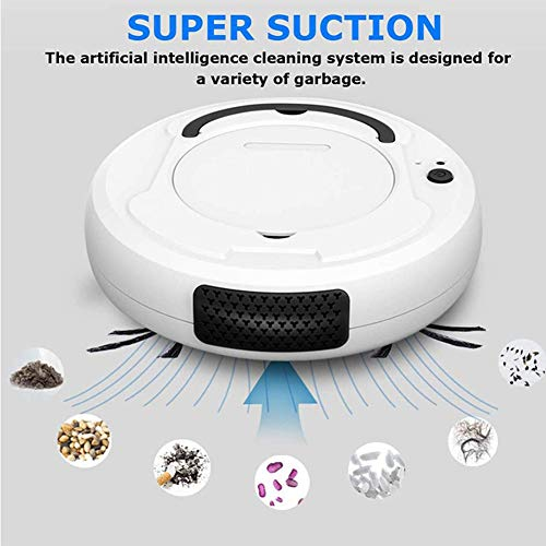 Great Price! UPANV 3 in 1 Robotic Vacuum Cleaner, USB Charging Automatic Vacuum Cleaner Sweeping The...