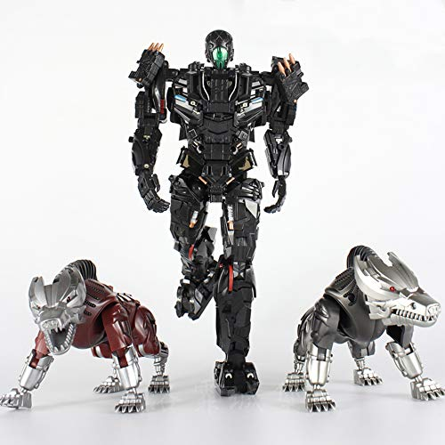 Transformer Robot VT01 KO Lockdown Alloy Two Dogs Action Figure Model Toys Collection