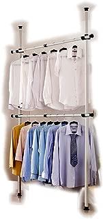diy clothes hanging rail