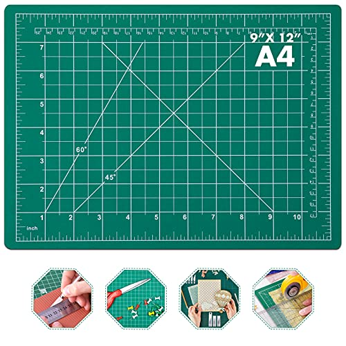 Self Healing Sewing Mat, Anezus Rotary Cutting Mat Double Sided 5-Ply Craft Cutting Board for Sewing Crafts Hobby Fabric Precision Scrapbooking Project 9