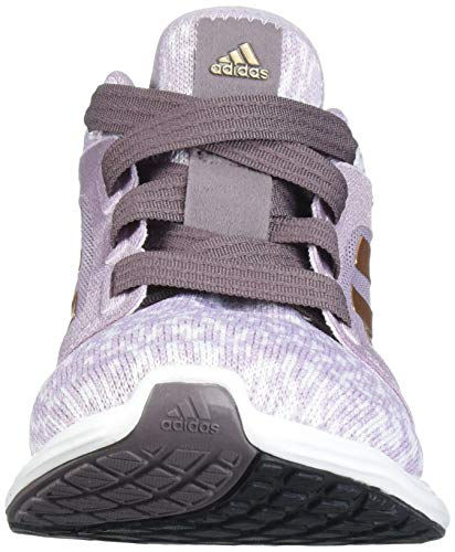 adidas Women's Edge Lux 3 Running Shoe, Soft Vision/Copper met./ Vision Shade, 8.5 Standard US Width US 3