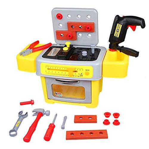 BLWX - Toys - Simulation House Toy Kit - Jouets garçon - Cadeaux d'anniversaire - Deux Styles Jouet ( Color : A )