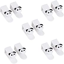 Set of 10 Lovely Panda Pattern Hooks for Clothes, Bags
