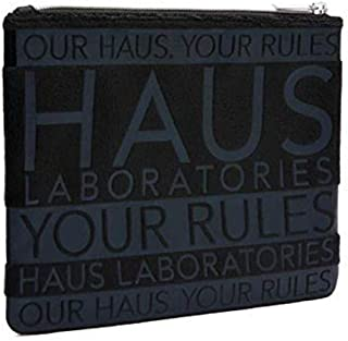 HAUS LABORATORIES By Lady Gaga: LAB BAG, Travel Makeup Bag   Multifunctional, Black Makeup Case With Zipper Closure For Co...