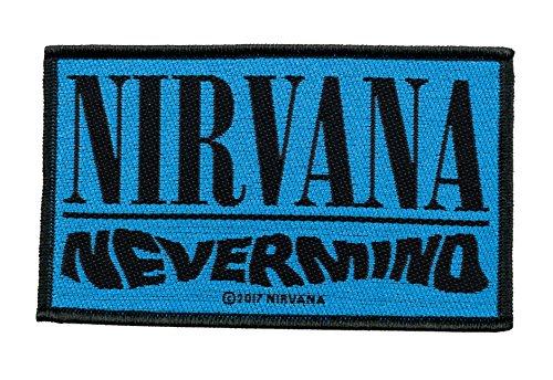 Nirvana Nevermind Aufnäher Patch Gewebt & Lizenziert !!
