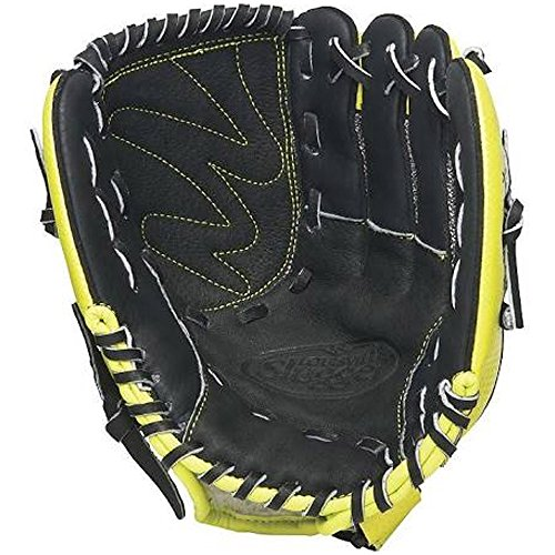 Louisville Slugger 10.5-Inch FG Diva Softball Infielders Gloves, Green, Right Hand Throw