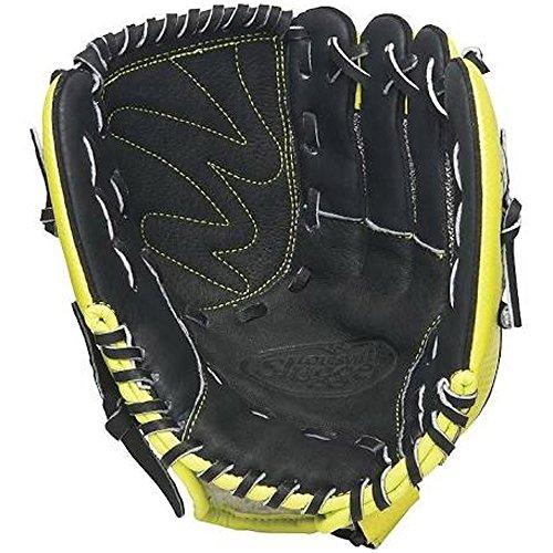 Louisville Slugger 10.5-Inch FG Diva Softball Infielders Gloves, Green, Right Hand Throw