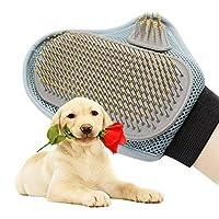 犬猫のためのBTFirstペットグルーミングブラシバスクリーニングDeshedding手袋