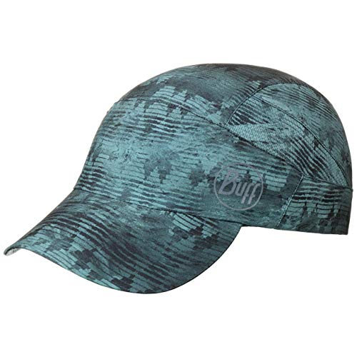 Buff Erwachsene Pack Patterned Trek Cap, Tzom Stone Blue, One Size