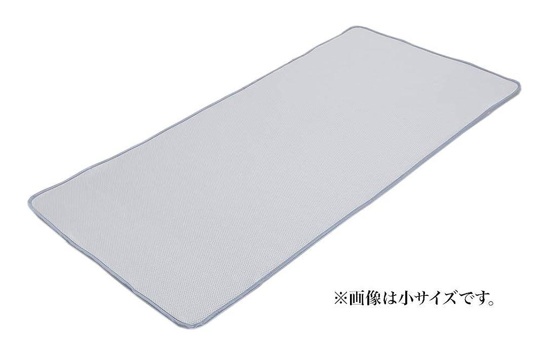 寮ヘルシー優れたフランスベッド ひんやりグッズ 小 97×195cm ひんやり消臭ベッドパッド 日本製 クールデオドパッドN 35975101
