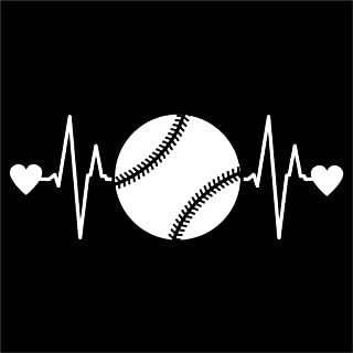 baseball mom car decals