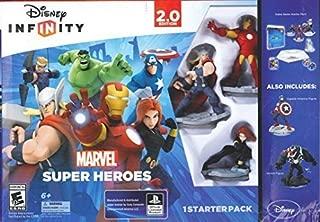 Disney Infinity Marvel Super Heroes 2.0 XBox ONE withCaptain America & Venom Figure Starter Pack