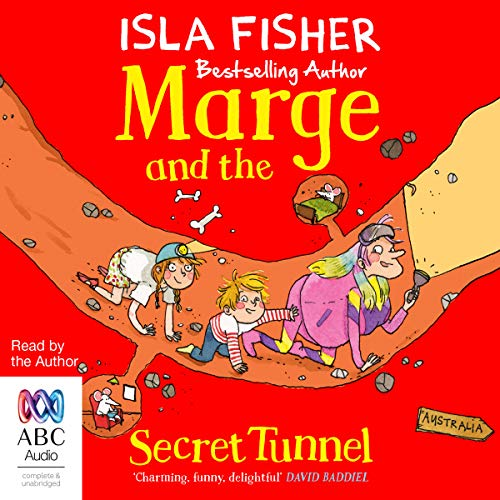 Marge and the Secret Tunnel audiobook cover art