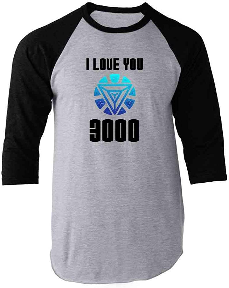 I Love You 3000 Gift for Dad Superhero Black
