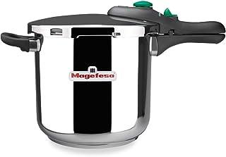 comprar comparacion Desconocido MAGEFESA 01OPDINAM06 01OPDINAM06-Olla a presión súper rápida Modelo Dynamic 6L, Metal, 22 cm