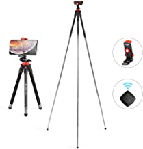 Orange Fotopro C5i 62.6-inch Folding Monopod//Tripod with FPH-52Q Ball Head
