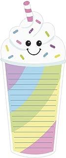 iscream Glitter Milkshake Pack of 8 Die Cut Fold Up Notecards with Envelopes