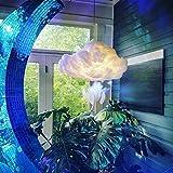 Cloud Pendant Light LED, Floating Cloud Lamps Fixture Cotton Silk Suspension, DIY Handmade Material Hanging Lamp, Creative Cloud Light,for Children Room Bedroom Coffee Home Decoration