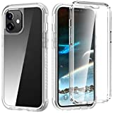 XQ-HD Compatible for iPhone 12 Mini Case, iPhone 12 Mini case with Built-in Screen Protector, Full-Body Protection Non-Slip Shockproof Anti-Scratch Rugged Case for iPhone 12 Mini 5.4 inch (2020).