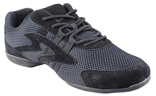 Low Profile Unisex Dance Sneakers Black