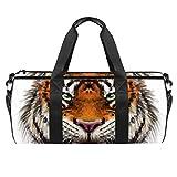 ASDFSD Bolsa de deporte para hombre y mujer, diseño de tigre