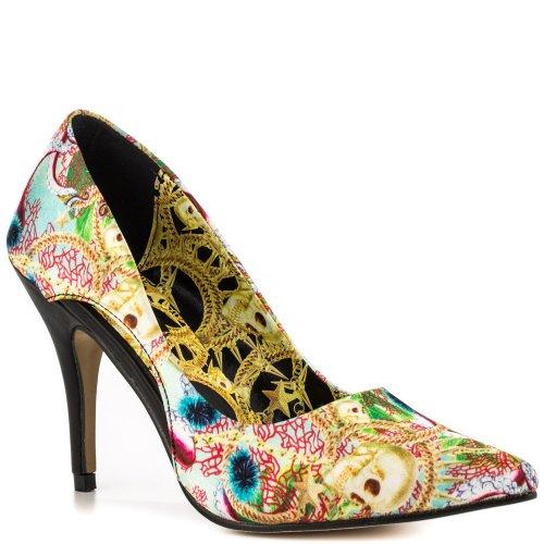 Iron Fist Juansace Heel - Plataforma Cuero Mujer