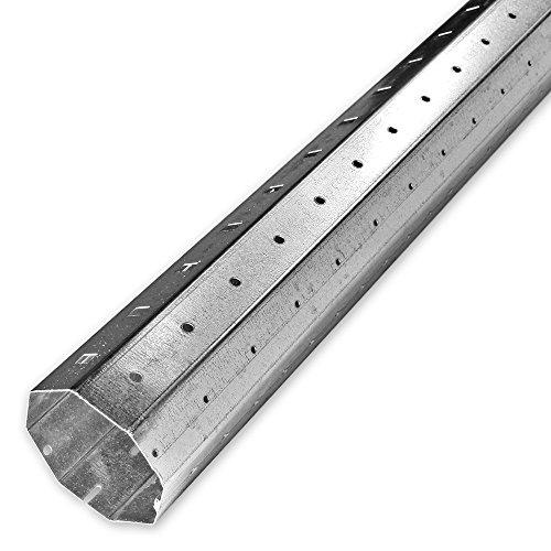 1,70 m Achtkant Rolladenwelle SW 50 verzinkt, Stahlwelle/Achtkantwelle, individuell kürzbar, Behangewicht bis max 60 kg, von EVEROXX®