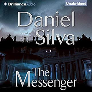 The Messenger                   By:                                                                                                                                 Daniel Silva                               Narrated by:                                                                                                                                 Christopher Lane                      Length: 10 hrs and 56 mins     1,877 ratings     Overall 4.4