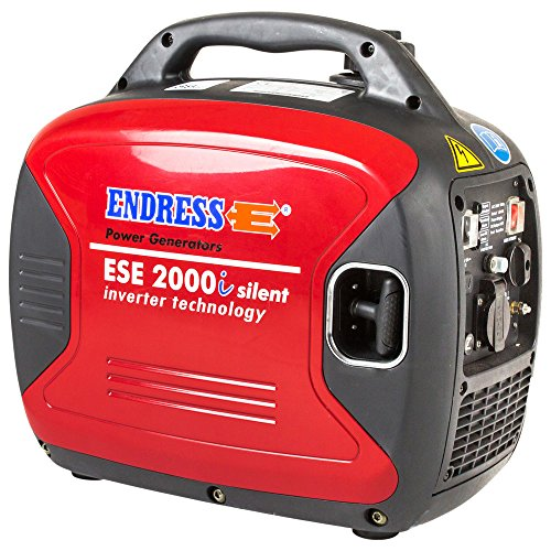 Dönges GmbH & Co. Endress ESE 2000i Silent 1600W/2000W 230V Stromerzeuger Digital, Inverter Generator, Benzin