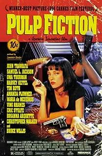 Pulp Fiction Uma Thurman Smoking Movie Cool Wall Decor Art Print Poster 24x36