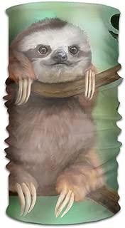 Magic Headwear Baby Sloth Outdoor Scarf Headbands Bandana Mask Neck Gaiter Head Wrap Mask Sweatband